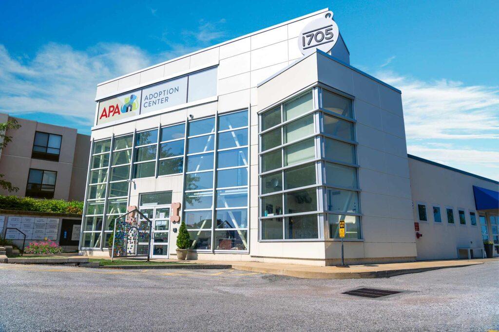 APA Adoption Center Storefront
